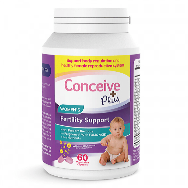 Conceive Plus Women Fertility Dietary Supplement support pill scapsules